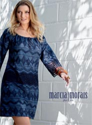 Plus Size Catalog by Brazilian Brand Marcia Morais, Spring-Summer 2017