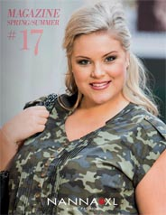 Plus Size Magazine by Danish Brand Nanna, Spring-Summer 2017