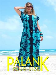 Plus Size Lookbooks by Brazilian Brand Palank, Spring-Summer 2017