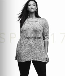 Plus Size Lookbook by Canadian Brand Penningtons, Spring 2017