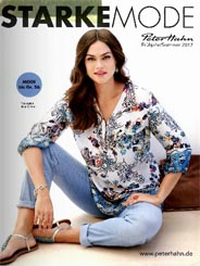 German Plus Size Catalogue Peter Hahn Strake Mode, Spring-Summer 2017