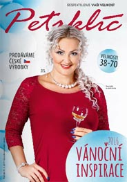 Plus Size Holiday Catalogue by Czech Brand Petrklíč 2017