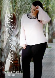 Plus Size Catalogues by Brazilian Brand Silvania Mares, Fall-Winter 2016-17