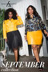 Plus Size Lookbook by American Brand Ashley Stewart, September 2016