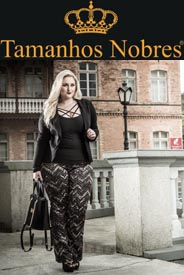 Plus Size Catalogues by Brazilian Brand Tamanhos Nobres, Fall-Winter 2016-17