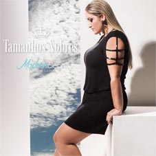 Plus Size Catalogues by Brazilian Brand Tamanhos Nobres, Spring-Summer 2017