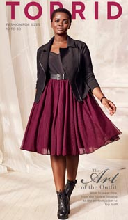 Plus Size Catalog by American Brand Torrid, Fall-Winter 2016-2017