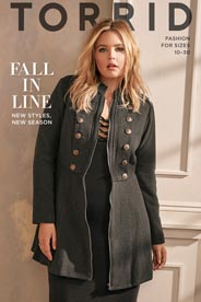 Plus Size Catalog by American Brand Torrid, Fall 2016