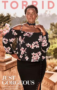 Plus Size Catalogues by American Brand Torrid, December 2016