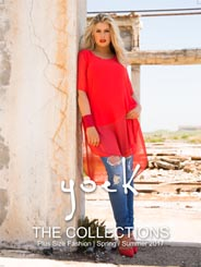 Plus Size Catalogue by Netherlands Brand Yoek, Spring-Summer 2017