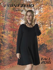 Plus Size Lookbooks by Canadian Brand Point Zero, Fall-Winter 2016