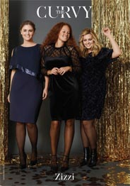 Plus Size Magazines The Curvy by Danish Brand Zizzi, November-December 2016