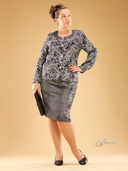 Russian Catalog of Clothes Plus Size Silver String. Summer 2012.