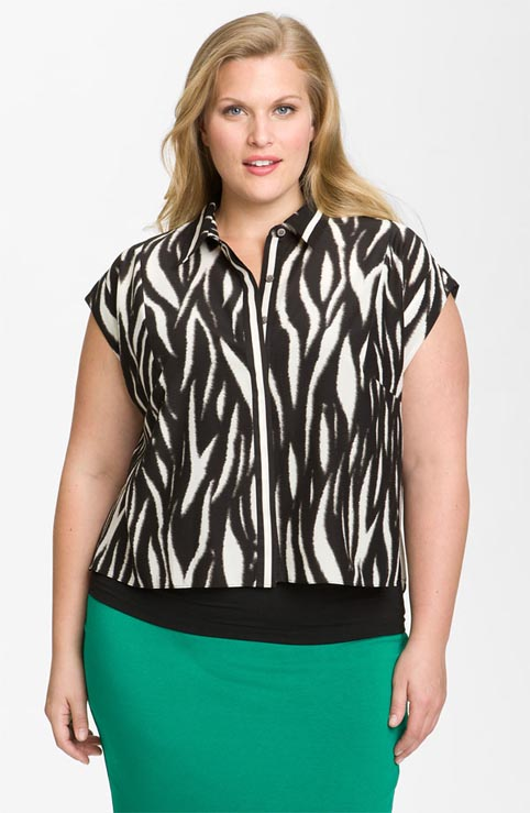 Vince Camuto Plus Size Collection. Summer 2012