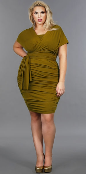 Monif C. Plus Size Dresses, Fall 2012