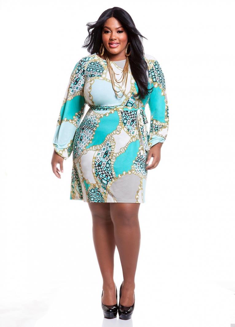 Ashley Stewart Plus Size Dresses. Spring 2013