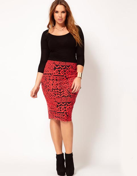 Fashionable Skirts for Stout Girls. Autumn-winter 2012-2013