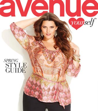 Avenue Plus Size Catalogue. Spring 2013