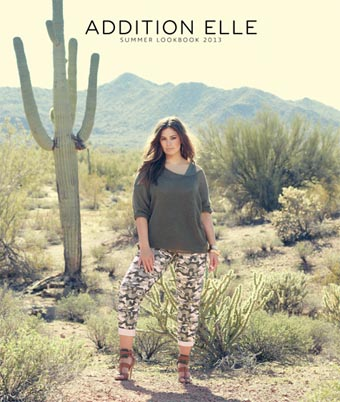 Addition Elle Plus Size Lookbook. Summer 2013