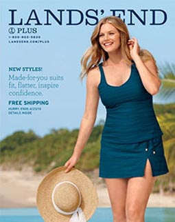 lands' end plus size catalog. spring-summer 2013 | american plus