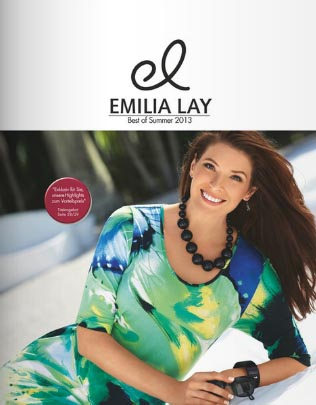 German Сatalog Plus Size Emilia Lay Best of Summer 2013