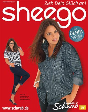 German Сatalog Plus Size Sheego Mit Denim Spesial. Spring-Summer 2013