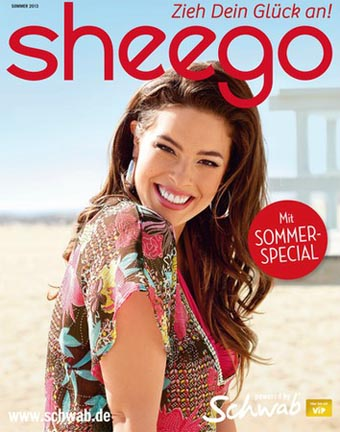 German Сatalog Plus Size Sheego Sommer Mode-Lieblinge 2013