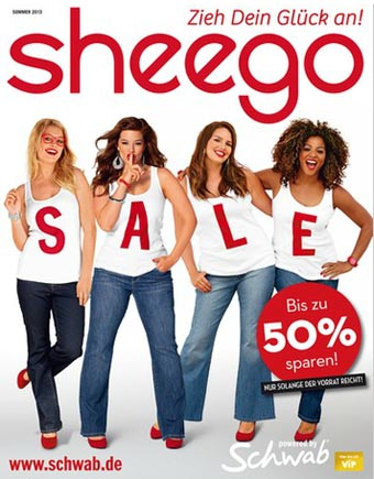 German Сatalog Plus Size Sheego Summer Sale 2013