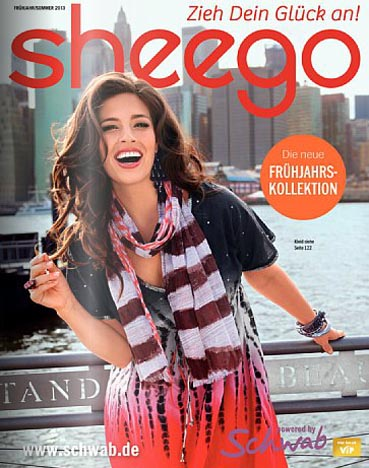 German Сatalog Plus Size Sheego. Spring 2013