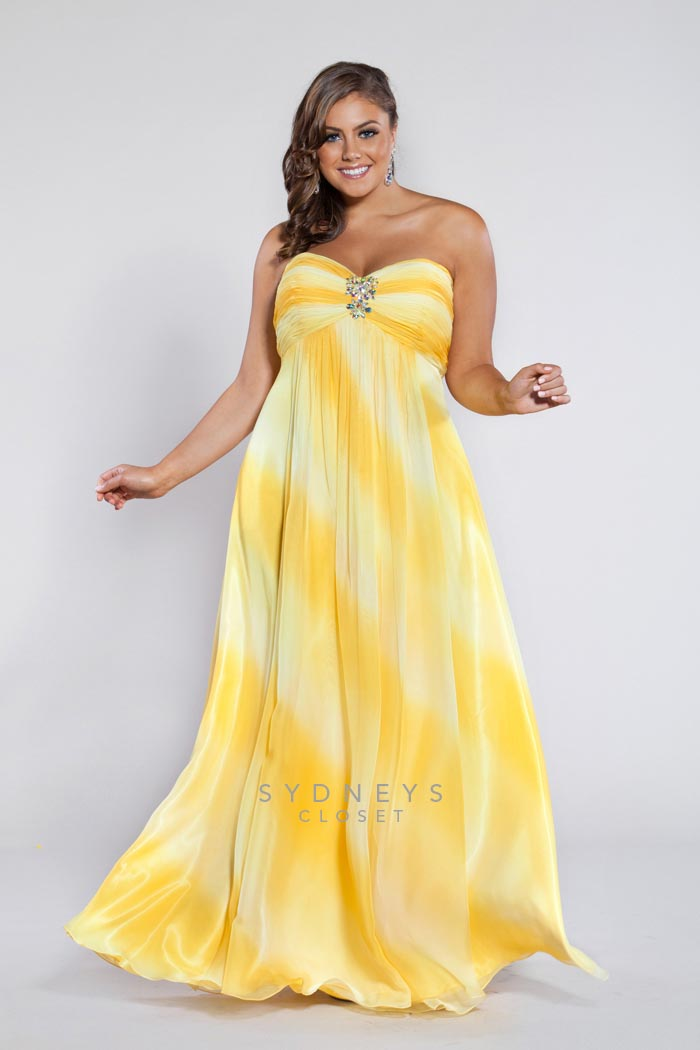 Plus Size Dresses for School Ball 2013 by Sydney's Closet