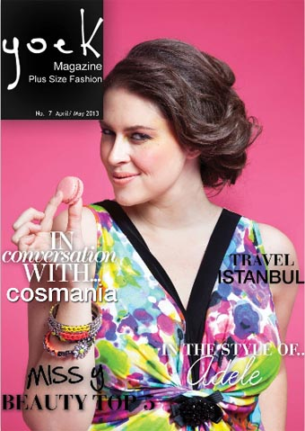 Dutch Plus Size Magazine Yoek. April-May 2013