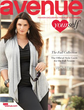 American Сatalog Plus Size Avenue. Fall 2013