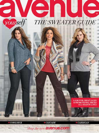 The Sweater Catalog Plus Size by Avenue 2013