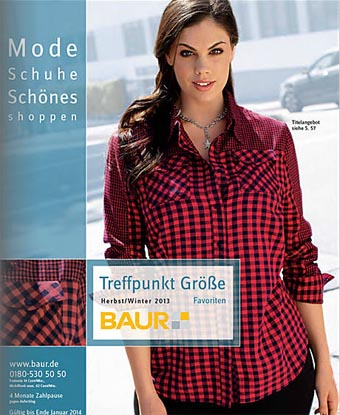 German Catalog Plus Size Baur Treffpunkt Größe Favoriten. Autumn-Winter 2013-2014