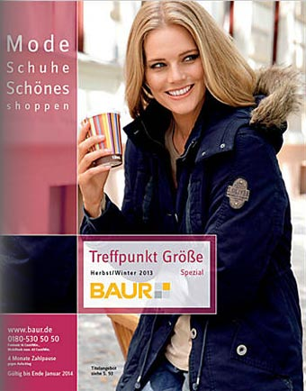 German Catalog Plus Size Baur Treffpunkt Gr��e Spezial. Autumn-Winter 2013-2014