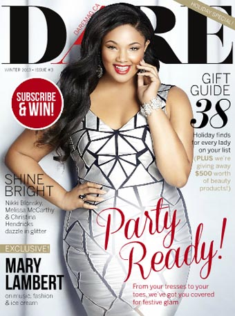 Plus Size Magazine Dare. Winter 2013-2014