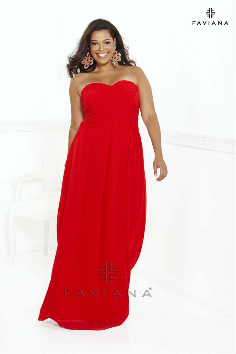 Faviana Plus Size Dresses. Fall-Winter 2013-2014