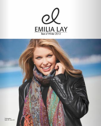 German Catalog Plus Size Emilia Lay Best of Winter 2013
