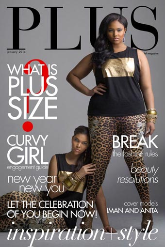 PLUS Model Magazine January 2013