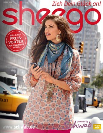 German Сatalog Plus Size Sheego Herbst Styles 2013