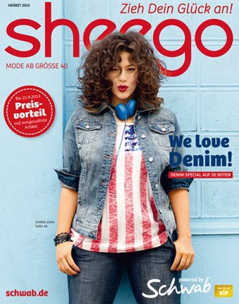 German Сatalog Plus Size Sheego Lieblinge. Fall 2013