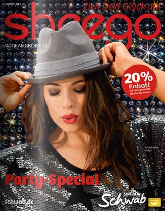 German Catalog Plus Size Sheego Party-Special. Winter 2013-2014