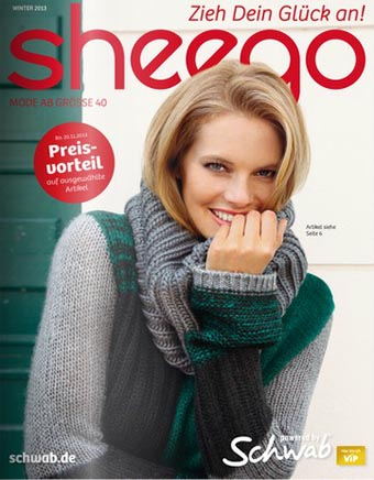 German Catalog Plus Size Sheego Winter Style 2013-2014