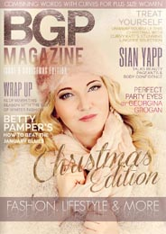 British Plus Size BGP Magazine. Winter 2014-15
