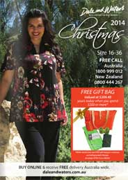Australian Сatalog Plus Size Dale and Waters. Winter 2014-2015