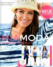 German Catalog Plus Size Mia Moda. Spring-summer 2015