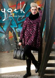 Netherlands Сatalog Plus Size Yoek. Fall-winter 2014-2015