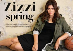 Plus Size Lookbooks of the Danish Brand Zizzi. Spring 2015