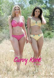 British Plus Size Lingerie Сatalog Curvy Kate. Spring-Summer, 2015