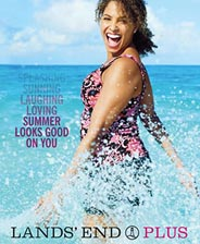 American Plus Size Сatalogs Lands' End. Summer 2015